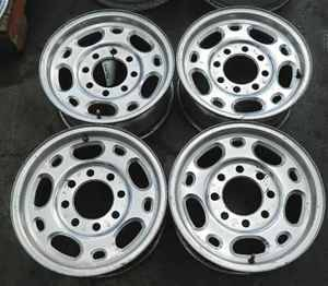 Silverado Sierra 16 Alloy Wheels Rims Set PY0 OE