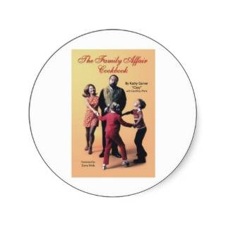 The Family Affair Cookbook Sticker