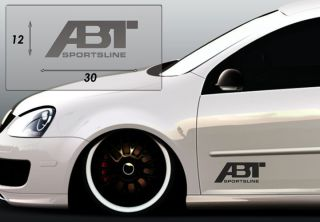 ABT Logo Aufkleber Emblem Tuning Decal Sticker Auto Tattoo Accessoires