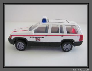 Herpa 043342 Chrysler Jeep BSB Fire Chief  187  *OVP* #7618#
