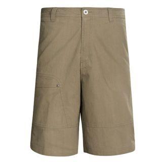 White Sierra Hells Canyon Shorts (For Men)   BARK ( )