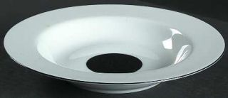 Sasaki China Deux Par Deux Large Rim Soup Bowl, Fine China Dinnerware   Multicol