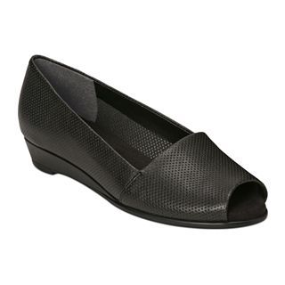 A2 by Aerosoles Castanet Slip On Shoes, Black, Womens