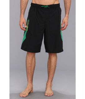 Nike Core Solid 9 Volley Short Mens Swimwear (Green)