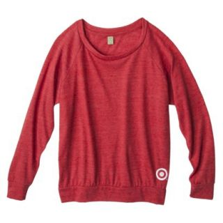 Womens Jersey Slouchy Red Pullover   XL