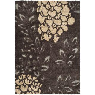 Safavieh Florida Shag Dark Brown/Gray Rug SG456 2880 Rug Size: 8 x 10