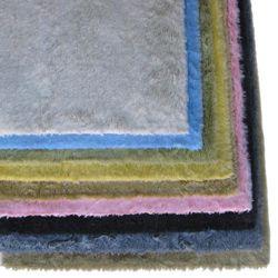 Ohno Kanecaron Faux Fur Rug (6 X 6)