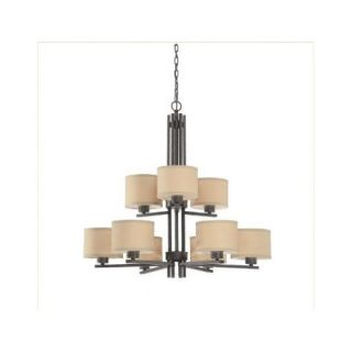 Dolan Designs Tecido 9 Light Chandelier 2942 09 / 2942 34