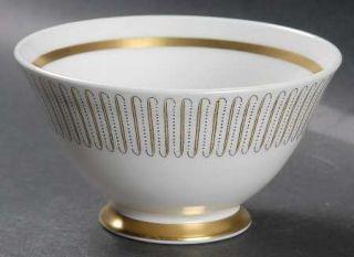 Royal Albert Capri Open Sugar Bowl, Fine China Dinnerware   Yellow Line/Brown Do