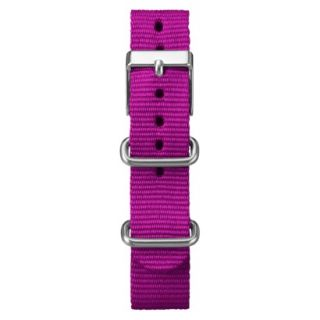 Timex Midsize Weekender Replacement Strap   Magenta