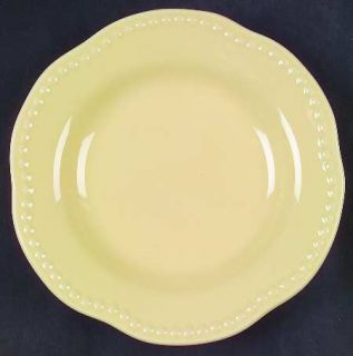 Pottery Barn Emma Yellow Salad Plate Fine China Dinnerware All YellowBeaded : emma dinnerware - pezcame.com