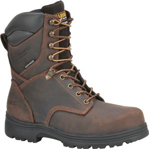 Carolina Mens 8 Inch Waterproof Insulated Steel Toe Work Boot Gaucho Boots   CA3534