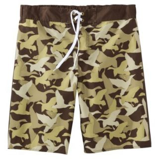 Mens Duck Dynasty Board Shorts   Camouflage 38