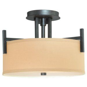 Dolan Designs DOL 2945 34 Tecido 2 Light Semi Flushmount