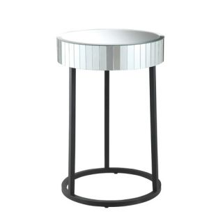 OSP Designs Krystal End Table KRY17 A