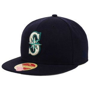 Seattle Mariners New Era MLB Wool Classic 59FIFTY Cap