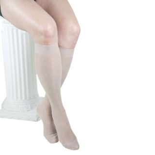GABRIALLA Knee Highs   Medium Compression (18  20 mmHg)   Nude S