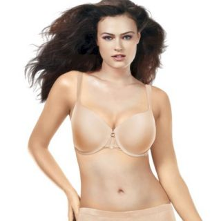 Self Expressions By Maidenform Womens Lace i Fit Full Support Bra   Latte 36DD