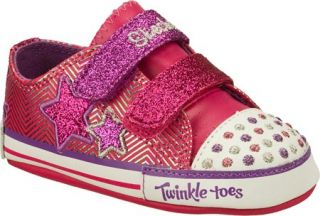 Infant/Toddler Girls Skechers Twinkle Toes Baby Sparks Cosmic Dreamz Two Straps