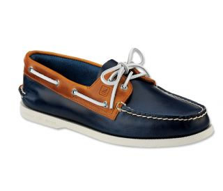 Sperry A/O Cyclone Boat Shoes / Sperry A/O Cyclone Boat Shoes, Dark Blue, 11