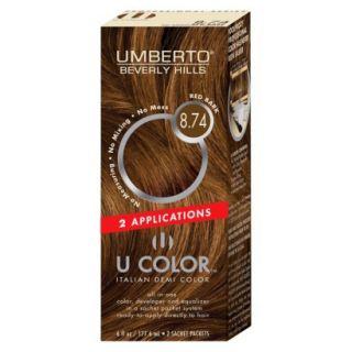 Umberto Beverly Hills U Color Italian Demi Hair Color   Red Bark 8.74