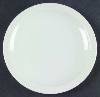 Arzberg Athena White Bread & Butter Plate, Fine China Dinnerware   All White, Na