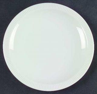 Arzberg Athena White Bread & Butter Plate, Fine China Dinnerware   All White, Na