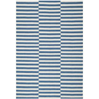 Ralph Lauren Home River Reed Stripe Ink Rug RLR2221B Rug Size 5 x 8