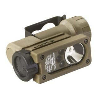 Streamlight 14104 Flashlight Sidewinder Compact C4 LED Tactical with CR123A Lithium Battery Coyote