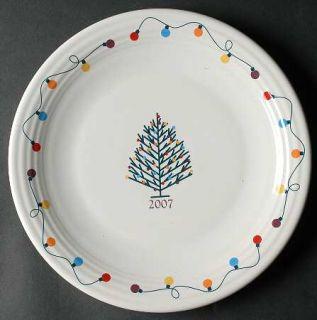 Homer Laughlin  Fiesta Light (Collector Plate) 2007 Annual Christmas Plate, Fine