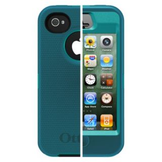 Otterbox Defender Cell Phone Case for iPhone4/4S  Teal (77 18585P1)