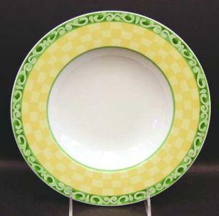 Villeroy & Boch Acacia Large Rim Soup Bowl, Fine China Dinnerware   Switch 7, Na