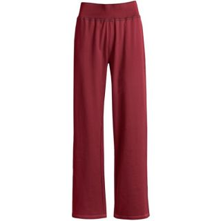 Woolrich Weekend Wear Lounge Pants   Stretch French Terry Cotton (For Women)   RUBY (2XL )