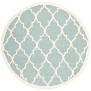 Safavieh Dhurries Light Blue/Ivory Rug DHU632C