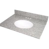 Pegasus PE31664 Universal 31 In. Granite Vanity Top In Montero With White Basin