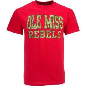 Mississippi Rebels NCAA Digi Camo Pride T Shirt