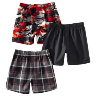 Cherokee Boys 3 Pack Boxer Shorts   Basic XL(16 18)