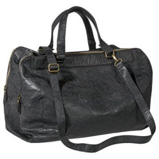 Bueno Weekender Handbag with Removable Crossbody Strap   Black