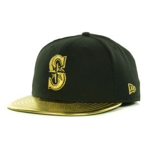 Seattle Mariners New Era MLB 59th Anniversary Gold 59FIFTY Cap