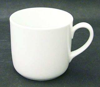 Noritake Angela White Mug, Fine China Dinnerware   Cook N Serve, All White