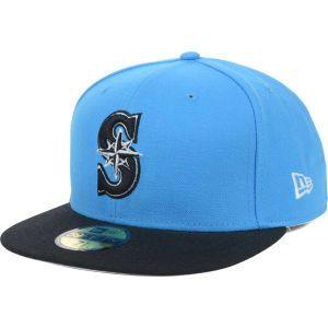 Seattle Mariners New Era MLB BW 2 Tone 59FIFTY Cap