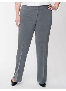 Lane Bryant Plus Size Lena tailored stretch classic leg pant     Womens Size