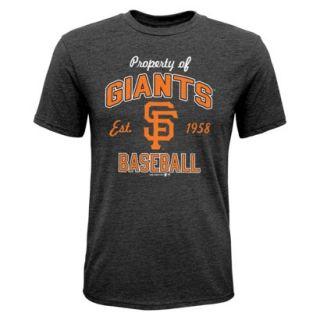 MLB TEAM COLOR MLB Boys T Shirt SF GIANTS   L