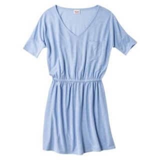 Mossimo Supply Co. Juniors V Neck Dress   Rushing Water Blue S(3 5)