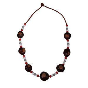 Ohio State Buckeyes Buckeye Necklace