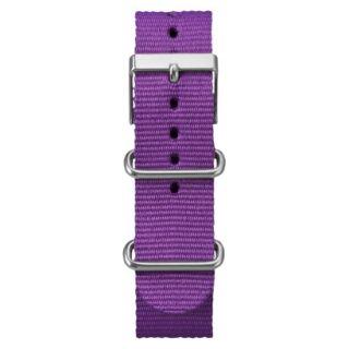 Timex Weekender Full Size Slip Through Replacement Strap   Purple