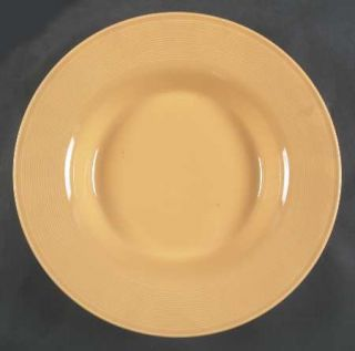 Nancy Calhoun Solid Color Honey 11 Individual Pasta Bowl, Fine China Dinnerware
