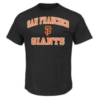 MLB Mens San Francisco Giants T Shirt   Black (S)