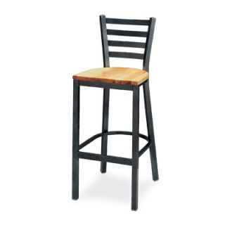 Grand Rapids Chair Melissa Anne Ladder Back Barstool (24   36 Seats) 501BS