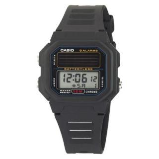 Casio Mens Solar Digital Watch   Silver   AL190WD 1A